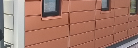 Project in Colorcoat Prisma met de kleur Seren Copper