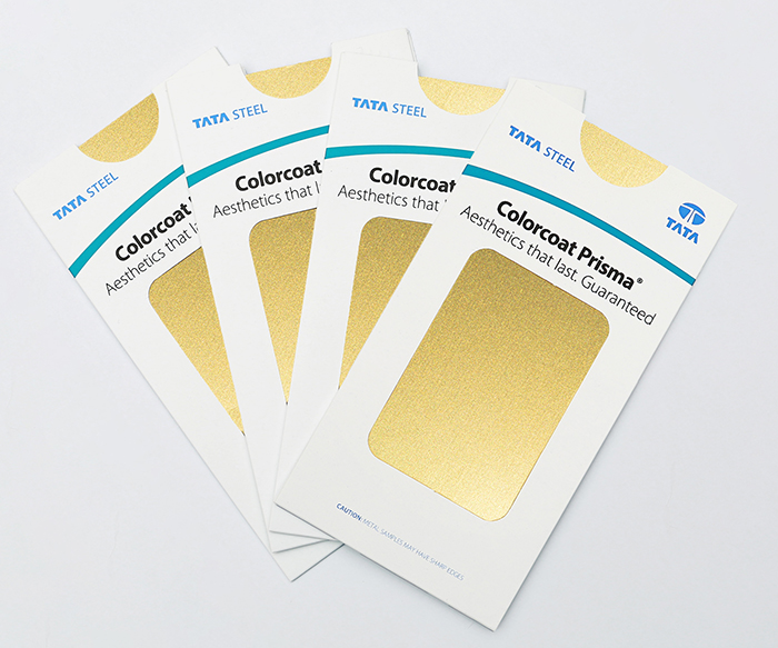 Colorcoat Prisma  Seren Midas - Gold